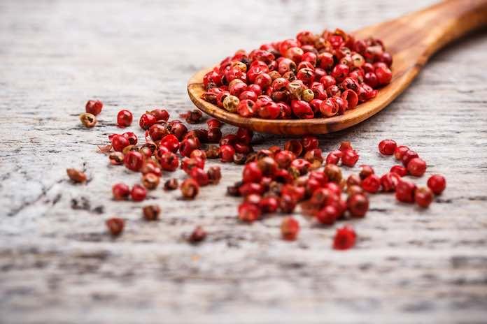 kampotský červený pepř